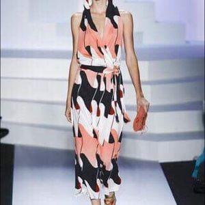 Diane Von Furstenberg silk jumpsuit size 4